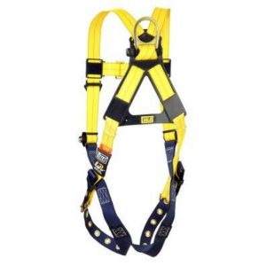 3M DBI-SALA 1102000 Delta Vest-Style Harness Universal – Tongue Buckle