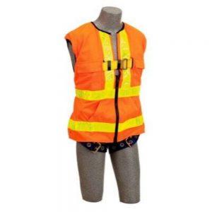 3M DBI-SALA 1107404 Delta Vest Hi-Vis Reflective Workvest Harness Universal