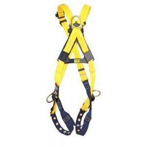 3M DBI-SALA 1103375 Delta Cross-Over Style Positioning/Climbing Harness Universal – Tongue Buckle