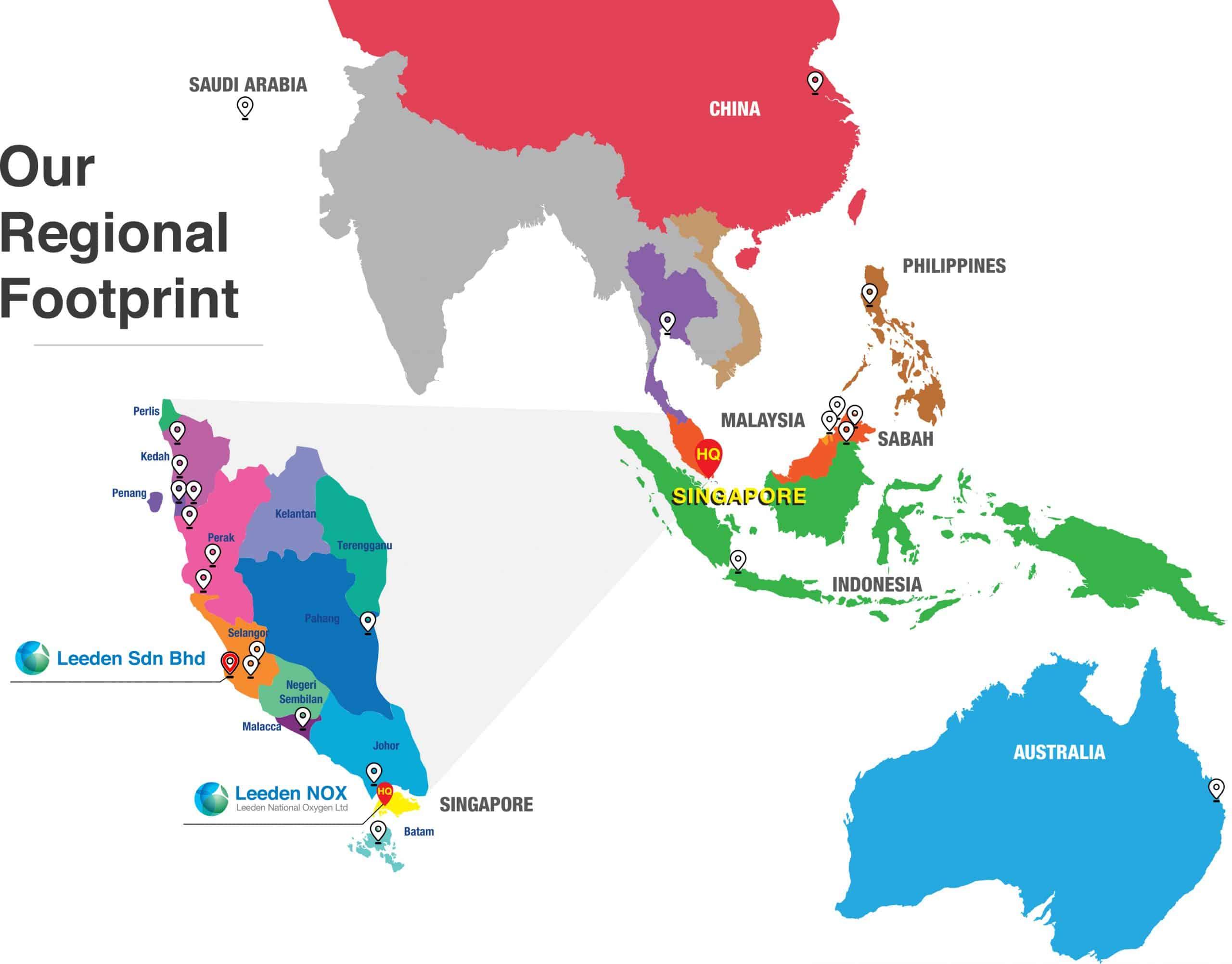 Regional Presence