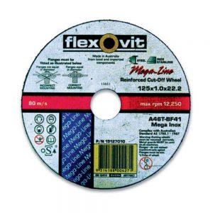 Flexovit Flat Type 41 Ultra-Thin Cutting-Off Wheels