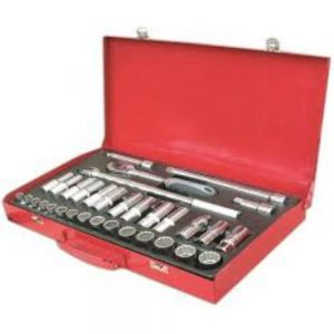 Ega Master 1/2″ Socket Wrenches set 33pcs (mm/in)