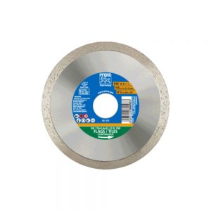 PFRED Diamond Cut Off Wheels – Construction Continuous Rim For Very Fine Cutting DG FL PSF