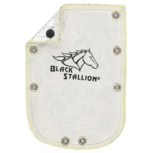 Black Stallion FluxGuard Fiberglass Heat Shield for 580
