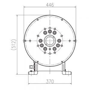 OTC Daihen External Axis Positioner AII-1PC1000