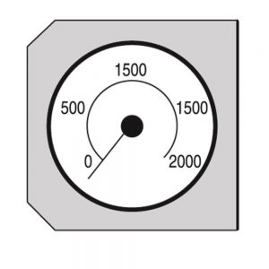 Nederman 12372063 Pressure Gauge Kit