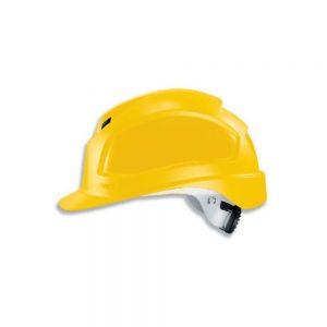 Uvex 9772139 Pheos B-WR Yellow Safety Helmet