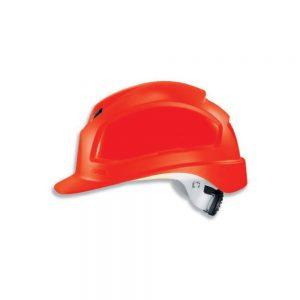 Uvex 9772339 Pheos B-WR Red Safety Helmet
