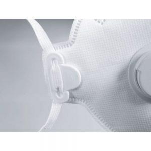 Uvex 8733210 SILV-AIR C 3210 FFP2 N95 Folding Mask with Valve