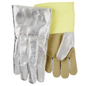 Black Stallion Aluminized Carbon/Kevlar Hi-Temp Glove AHS714P