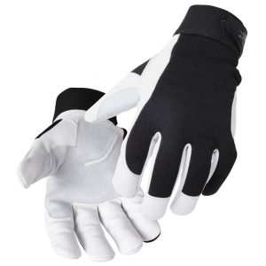 Black Stallion FlexHand Grain Goatskin Mechanics Glove GX3020-BW