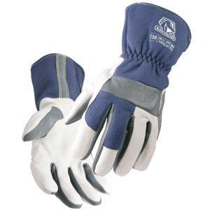 Black Stallion Premium Grain Goatskin & FR Cotton T50 TIG Welding Glove