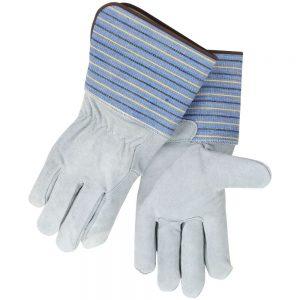 Black Stallion Premium Shoulder Split Cowhide 8FB Work Glove with Full Leather Back-Long Cuff