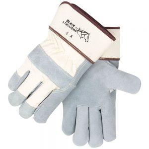 Black Stallion Rugged Split Cowhide 5A Work Glove