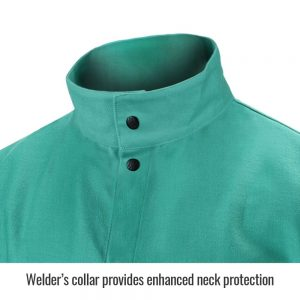 Black Stallion TruGuard 200 FR Cotton Welding Jacket-F9-36C