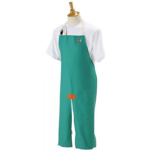 Black Stallion Flame-Resistant Cotton Split-Leg Apron F9-36SL