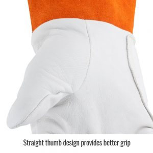 Black Stallion Premium Kidskin 25K TIG Glove with DragPatch