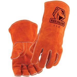 Black Stallion Select Shoulder Split Cowhide 110 Stick Glove