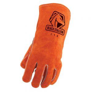 Black Stallion Select Shoulder Split Cowhide 110LH Stick Glove Left Hand Only